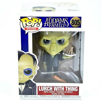 Funko Pop! Movies The Addams Family Lurch with Thing #805 Vinyl Figure