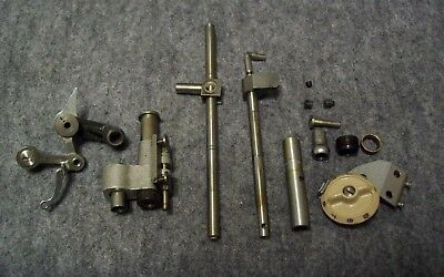 Singer 500A  Sewing Machine Presser Bar, Needle Bar, & Misc. Parts
