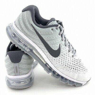 Nike Air Max 2017 Wolf Grey Men's Running Shoes Sneakers 849559 101