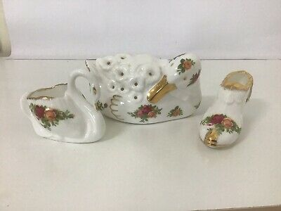 3 Royal Albert Items All Made In England ,All In Mint Codition Xmas Sale On