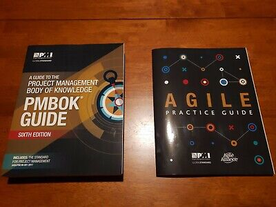 PMBOK Guide 6th Edition and Agile Practice Guide Paperback Bought from PMI