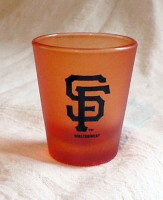 New Mlb San Francisco Giants Shot Glass