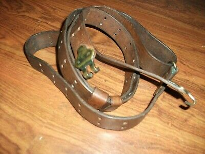 Wwii Us Model 1907 Leather Sling For M1903A3 Springfield & M1 Garand Rifles-1944