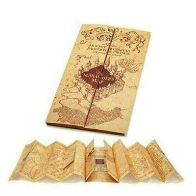 Harry Potter Fun 77*22cm Hogwarts Marauder's Map Kraft Paper Wizarding World