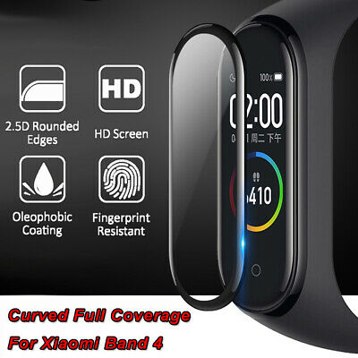 For Xiaomi Mi Band 4 Explosion-proof Tempered Glass Protector Film Cover (2PCS)