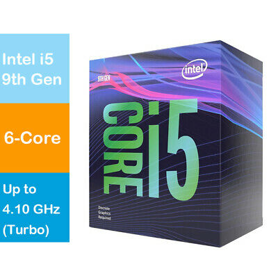 Intel BX80684I59400F Core i5-9400F 2.9Ghz LGA1151 Coffee Lake 9th Gen Deskto WP.