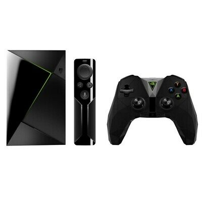 NVIDIA 945-12897-2506-000 Shield TV Streaming Media Player with Controller a WP.