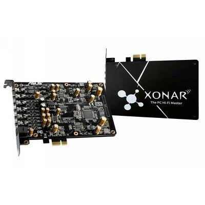 Asus XONAR-AE  7.1 PCIe Gaming Sound Card With Exclusive EMI Back Plate WP.