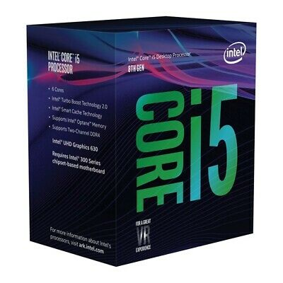 Intel BX80684I58400 Core i5-8400 Processor 9M Cache, up to 2.80 GHz LGA1151  WP.