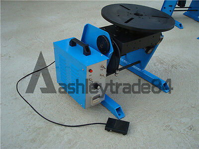 50KG Duty Welding Positioner Turntable Timing with 200mm Chuck 110V