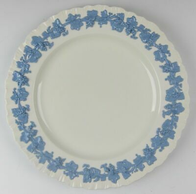 Wedgwood China LAVENDER ON CREAM (Shell Edge) Dinner Plate EXCELLENT