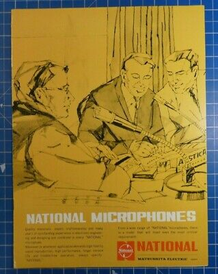 NATIONAL Microphones Prospekt B22156