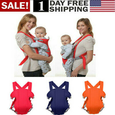 Newborn Baby Carrier Sling Rider Backpack Wrap Straps Infant Adjustable Comfort