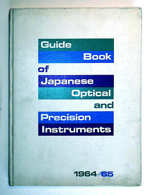 Extremely Rare - 1964-5 Guide Book of Japanese Optical and Precision Instruments