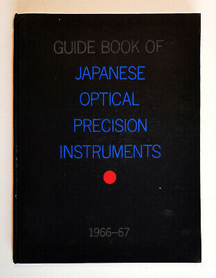 Extremely Rare - 1966-7 Guide Book of Japanese Optical and Precision Instruments