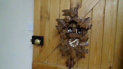 Vintage Regula Cuckoo Clock Musical 3 Train Needs Attention Spares Or Repair