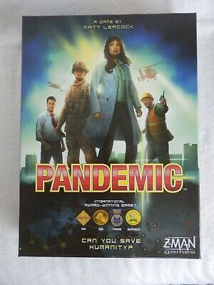 Z-Man Games - Pandemic Board Game By Matt Leacock - New (other) Contents Sealed