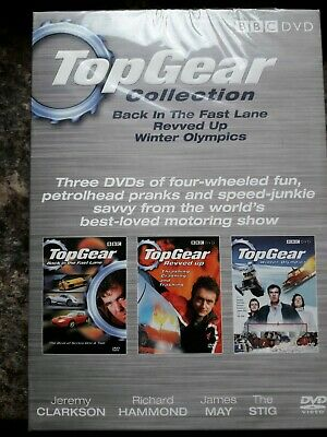 Top Gear Collection 3 DVD specials box set, Clarkson Hammond May Stig brand new