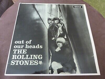 The Rolling Stones - Out Of Our Heads - Uk Early Re-Issue - Very Good++