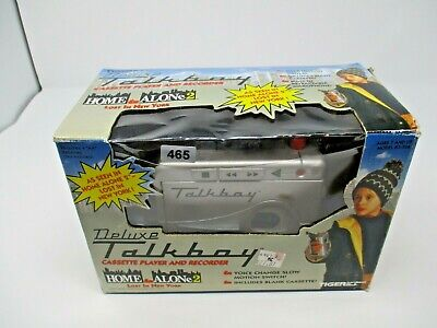 Home Alone Deluxe Talkboy in Original Box with Cassette Batteries Tested Working