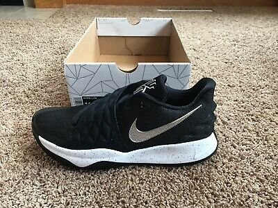 Nike Men's Kyrie Low Black Metallic Silver Size 11 AO8979 003