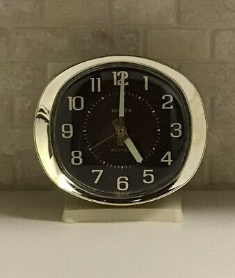 Retro Westclox Big Ben Wind-Up Alarm Clock - Lighted Dial - Made In USA