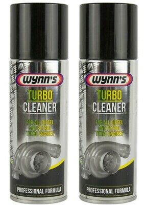 2 pieces Wynn's TURBO CLEANER FOR ALL DIESEL AND PETROL TURBO ENGINES 200ml