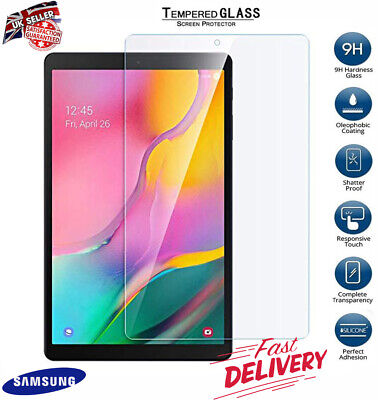 Genuine Tempered Glass Screen Protector For SAMSUNG Galaxy Tab A T510/T515 10.1""