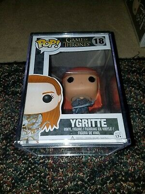Funko Pop! Game of Thrones Ygritte #18 Rare/ Vaulted With Box Protector Case.