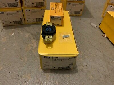 Lot of 3 Hubbell HBL2320 L6-20R 2 Pole 3 Wire Twist Lock Receptacle 20A 250V