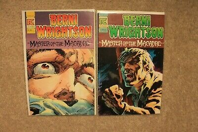 Berni Wrightson Master of Macabre 1 & 2 Comic Books PC SwampThing
