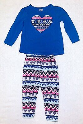 Gymboree 18 - 24 Months Girls 2-pc Outfit Winter Holiday Christmas Design
