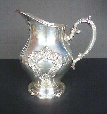 Heavy Mint Gorham Sterling Silver E.p. Water / Tea  Pitcher Yc 1382
