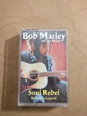 Bob Marley And The Wailers Soul Rebel Birth Of A Legend Rare Cassette Tape