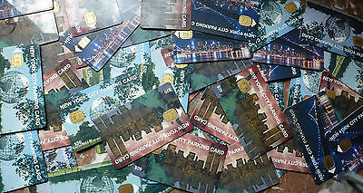 50 New York City Parking Cards - World Trade Center Statue of Liberty NYC ..