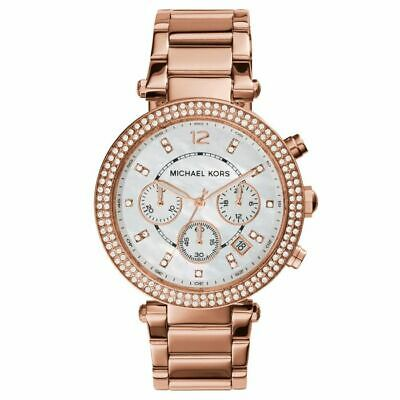 New Michael Kors Watch Parker Rose Gold Tone