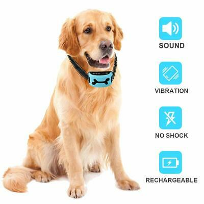 Yoyun Bark Collar Rechargeable Dog Anti Barking NO SHOCK, Harmless & Humane