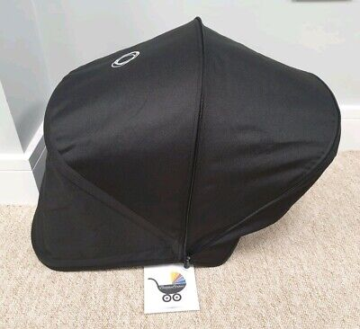 Bugaboo Donkey Black Extending Hood/sun canopy good condition 005