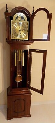 Grandfather Clock- Exc Con/New Hermle Wchime/NATIONWIDE PERSONAL DELIVERIES