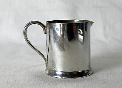 Vintage Small Silver Milk Jug With Makers Mark to Base 41.5g Approx.
