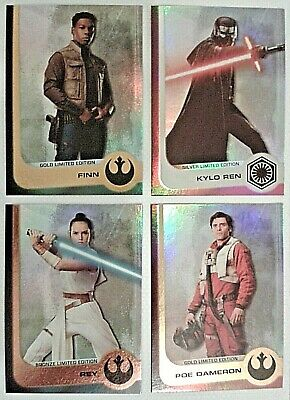 Journey To Star Wars : The Rise Of Skywalker Limited Edition Cards - Pick