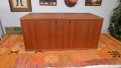 Mid Century Danish Modern Teak Cabinet for Wall Unit