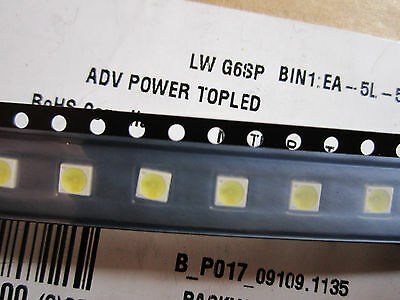 50 PCS OSRAM OPTO LG3360 3mm DIFFUSED 560nm ROUND T1 THROUGH HOLE GREEN LED NOS