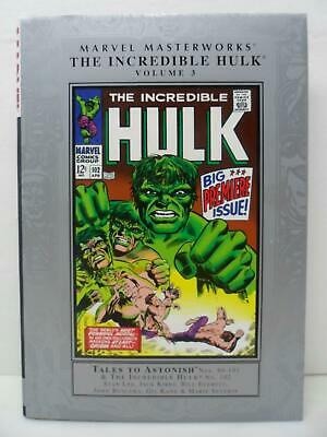 Marvel Masterworks The Incredible Hulk 3 Hardcover Book