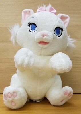 Disney Parks Plush Disney Babies Marie Aristocats White Kitty Cat 9""