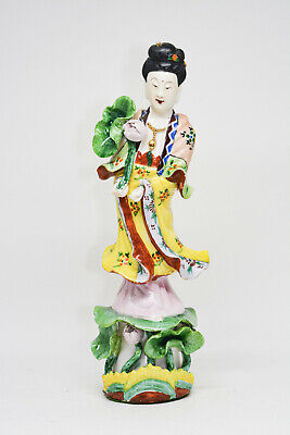 Vintage Chinese Guan Yin Fgurine - 9.5 Inches tall -  🐘