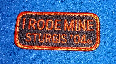 I Rode Mine Sturgis '04 Patch