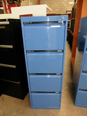 Office Statewide Blue 4 X Drawer Filing Cabinet Brisbane