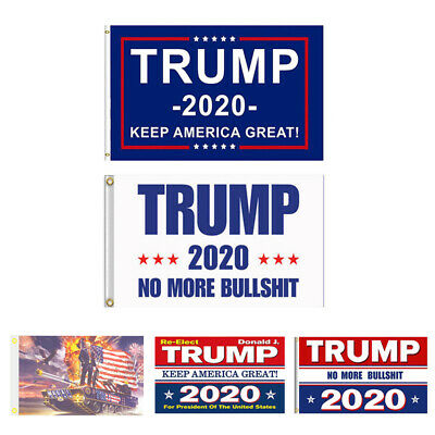 Trump 2020 Keep America Great President MAGA Make America Great 3x5 Ft Flag