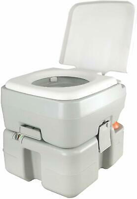 REDCAMP 20L Portable Upgrade Toilet Flush Travel Camping Outdoor Potty Commode